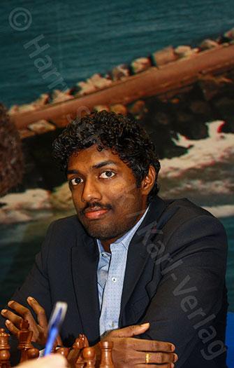 Baskaran Adhiban in Wijk aan Zee 2018