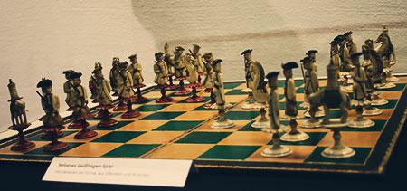 Geißlinger Spiel in der ICC-Ausstellung im Schraube-Museum Halberstadt