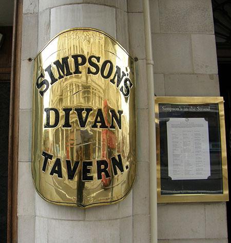 Simpson's Divan Tavern