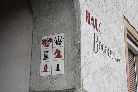 Eingang zu Bogoljubows Haus