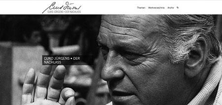 Curd Jürgens Ausstellung im Deutschen Filmmuseum Frankfurt